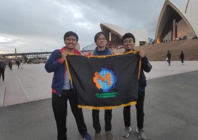 Tim Robot Eros di Australila 2019