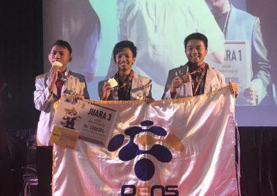 Juara 3 Divisi Karya Tulis TIK,(GEMASTIK) XII tahun 2019