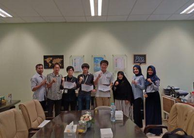 Kerja Sama Internasional Student Exchange Okayama University Jepang dengan Politeknik Elektronika Negeri Surabaya-PENS 2019