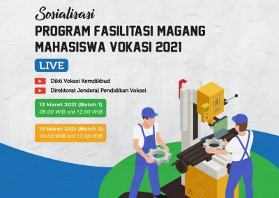 Sosialisasi Magang Vokasi 2021
